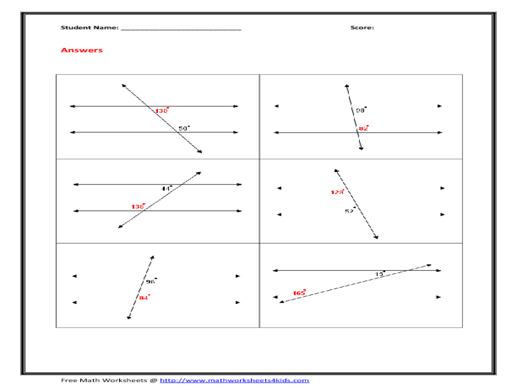 worksheet Interior And Exterior Angles Worksheet Fiercebad – Interior Angles of Polygons Worksheet