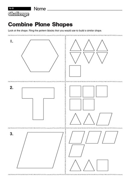 Solid shapes worksheets for kindergarten