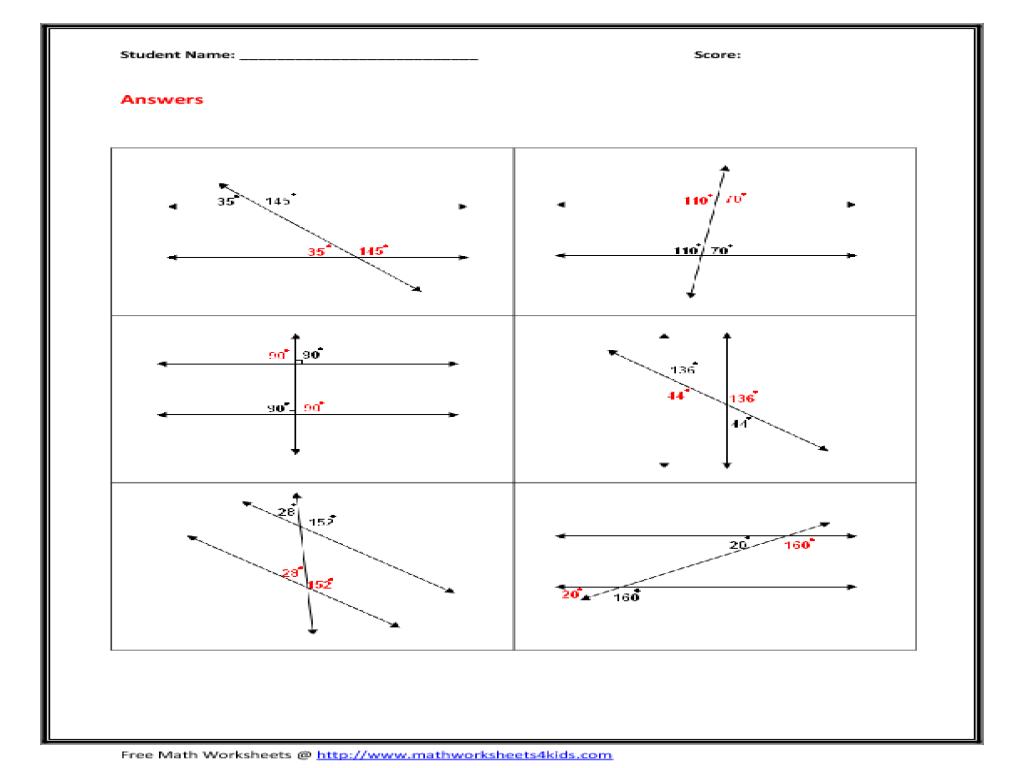 grade 6 math angles worksheets printable classifying and identifying angles worksheets1000. Black Bedroom Furniture Sets. Home Design Ideas