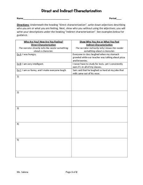 worksheet on direct and indirect speech pdf - The Best and Most ...