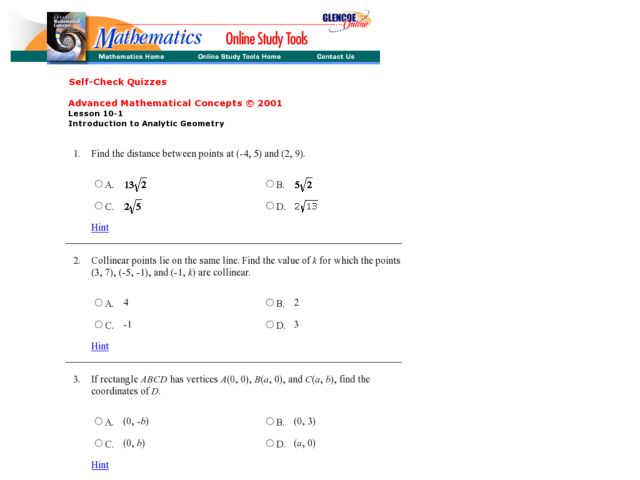 Distance Midpoint Formula Worksheet: The Midpoint Formula Worksheet   Delibertad,