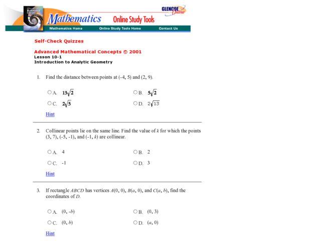 Midpoint Formula Worksheets - Delibertad