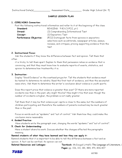 expository essay lesson plan high school All lesson plans for expository writing sign up or this lesson teaches the parts of an expository essay and how to organize and write an expository piece from a.