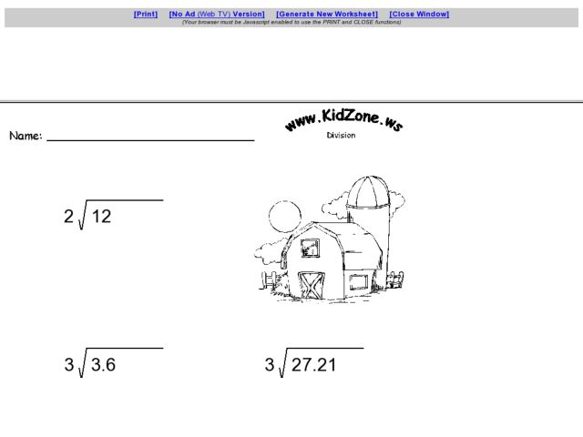 Dividing Whole Numbers Into Decimals Worksheets The Best and – Divide Decimals by Whole Numbers Worksheet