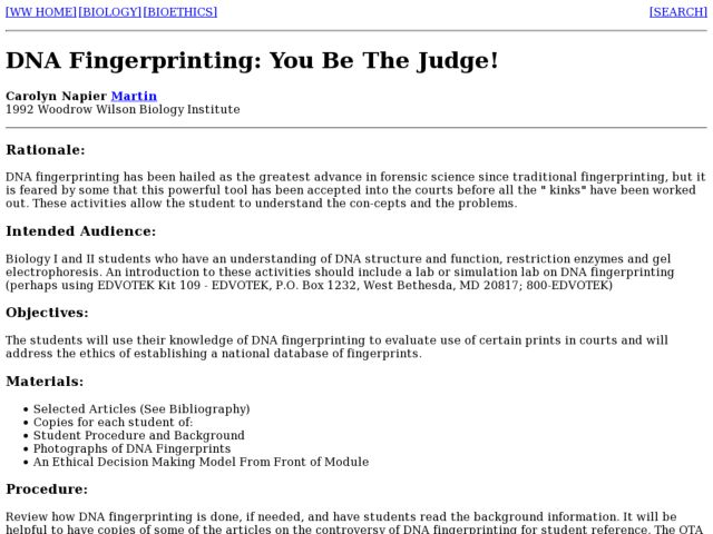 Dna Fingerprinting Worksheet - carolinabeachsurfreport