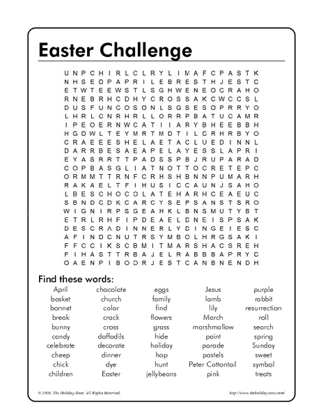easter word search for middle school free easter word search pinterest puzzles for kids. Black Bedroom Furniture Sets. Home Design Ideas