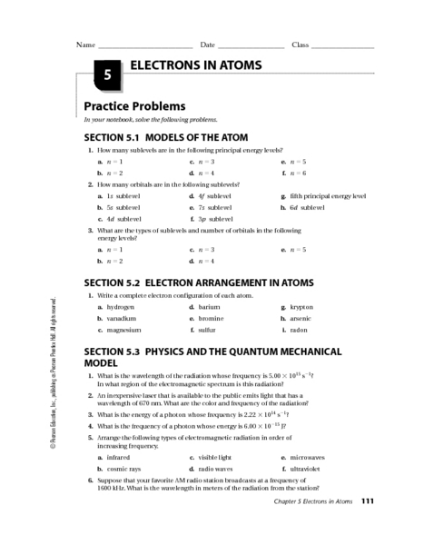 Worksheet Atoms Worksheet electrons in atoms 9th higher ed worksheet lesson planet