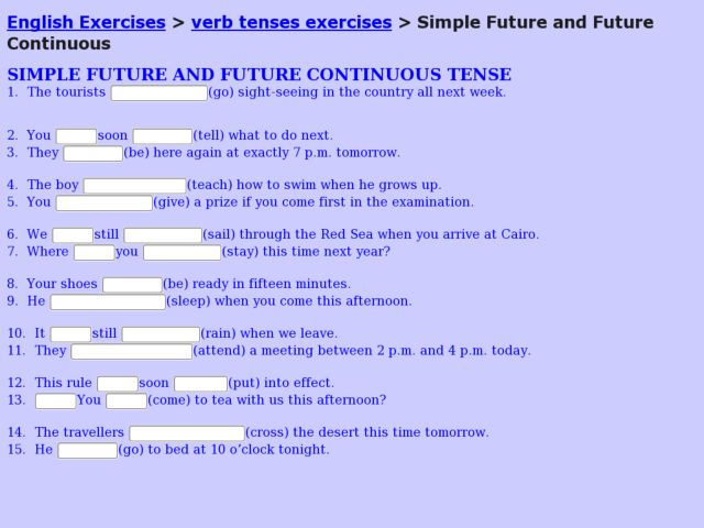 Simple Future Tense Worksheets For Grade 2 - The Best and Most ...