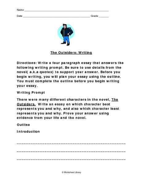the outsiders belonging essay The tools you need to write a quality essay or term paper johnny from the outsiders was a in the outsiders the greasers made belonging very clear to both.