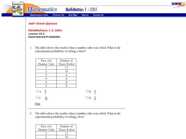 Experimental Probability Worksheets 8th Grade - The Best and Most ...