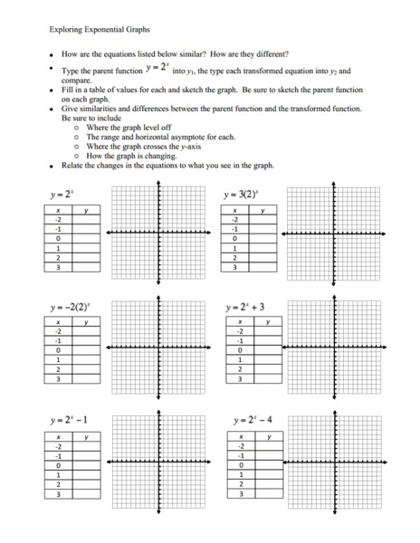 math exponential functions worksheets 1000 images about quadratic and exponential functions on. Black Bedroom Furniture Sets. Home Design Ideas