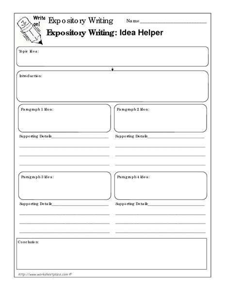 expository essays worksheets Fifth grade writing worksheets open up a world of words to your student for help with all aspects of fifth grade writing, check out our large selection below.