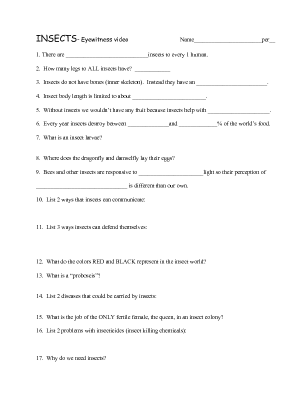 Printables The Nature Of Science Worksheet the nature of science worksheet answers section 1 what is methods eyewitness insects 3rd 5th grade lesson pla