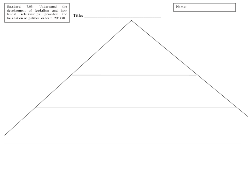 Free Worksheets On Feudalism - The Best and Most Comprehensive ...