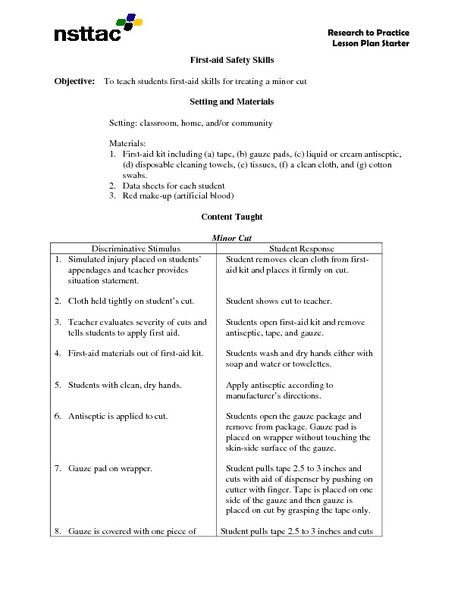 Worksheets On Safety And First Aid For Grade 2 - The Best and Most ...