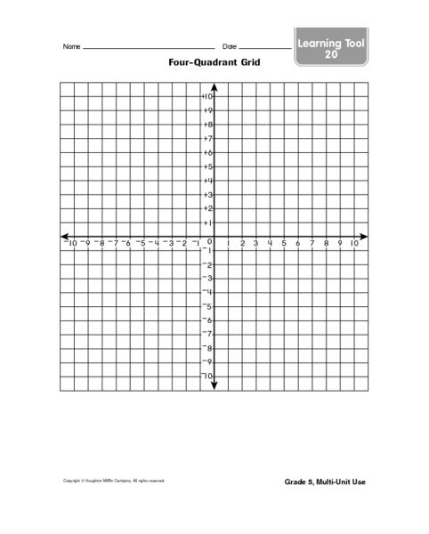 Coordinate grid pictures worksheets grade 4