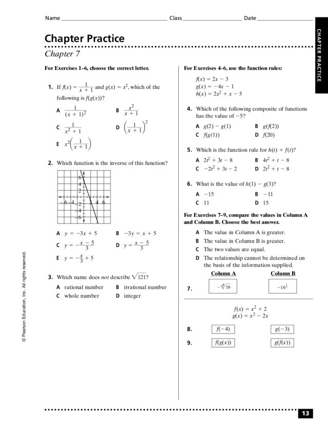 Multiple Representations Of Functions Worksheet 14 05 08 using – Function Rules Worksheet