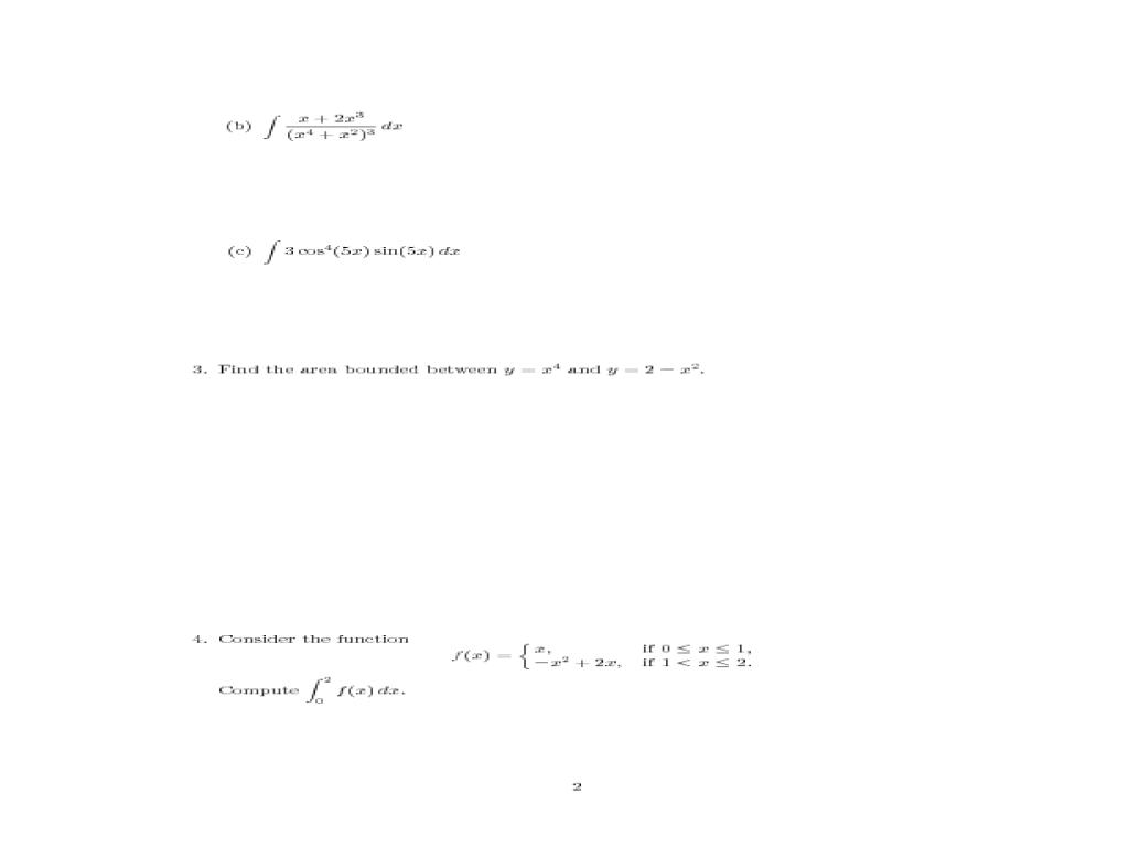 Fundamental Theorem Of Calculus Worksheet - Geersc