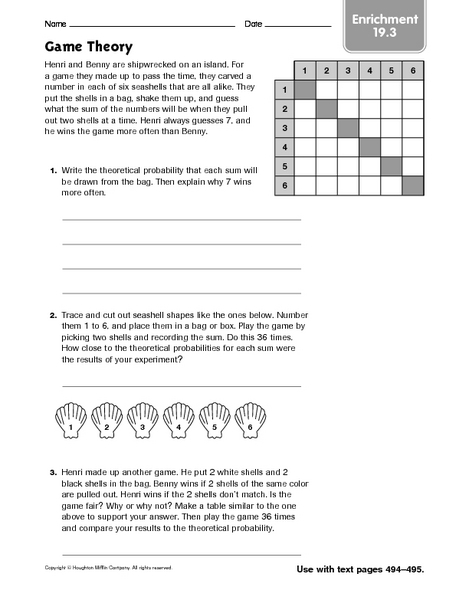 Worksheet Enrichment Math Worksheets enrichment worksheets for 7th grade math intrepidpath 3rd kids