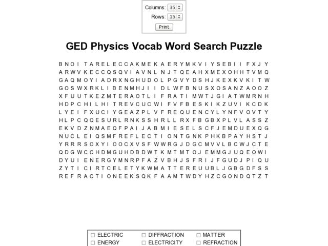 All Worksheets » Fun Physics Worksheets - Printable Worksheets ...