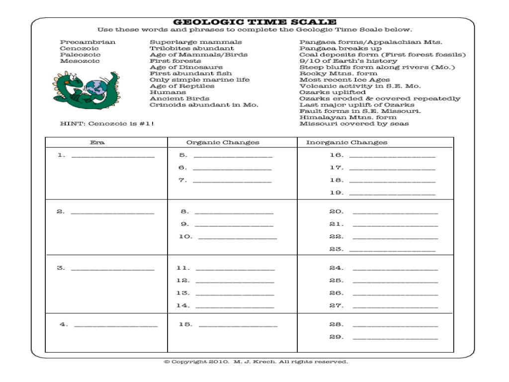 geologic time worksheet 28 geological time scale worksheet , posted by linda at 2017-08-27 02:37:24, picture size 744x678 pixel, p-4904.