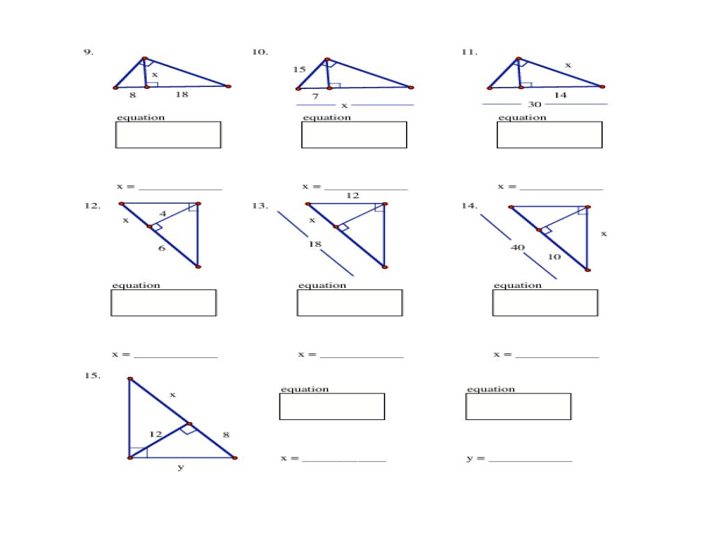 Geometric Mean Worksheet Kuta  kuta worksheet on geometric mean