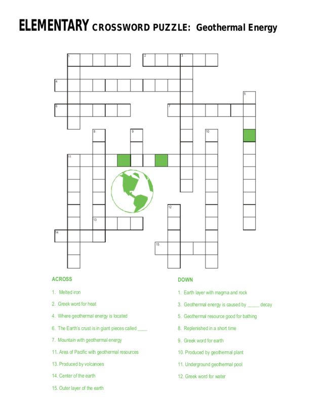 Worksheet Energy Resources Worksheet solar energy worksheets middle school intrepidpath geothermal crossword puzzle 6th 8th grade worksheet