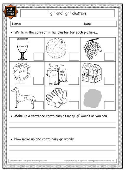 consonant blend tr worksheets consonant blends tr phonics learning mats printablesgl and gr. Black Bedroom Furniture Sets. Home Design Ideas