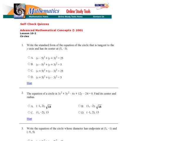 Circle Equations Worksheet Jennarocca – Circle Equation Worksheet