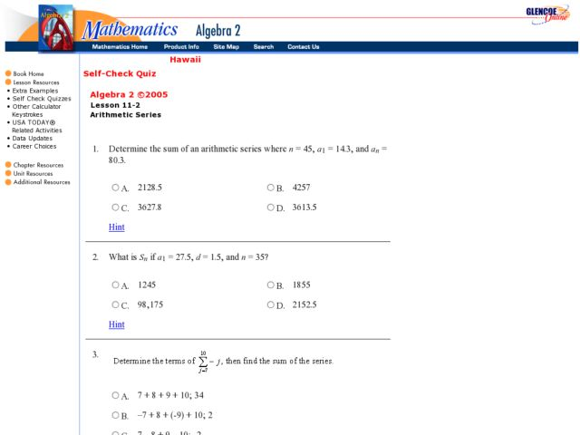 Arithmetic and geometric sequence worksheet doc