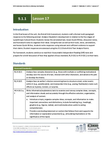 ela lesson plan Coverdell world wise schools lesson plans (peace corps) grade levels: 3-5, 6-9, 10-12 teks: english language arts & reading science social studies.