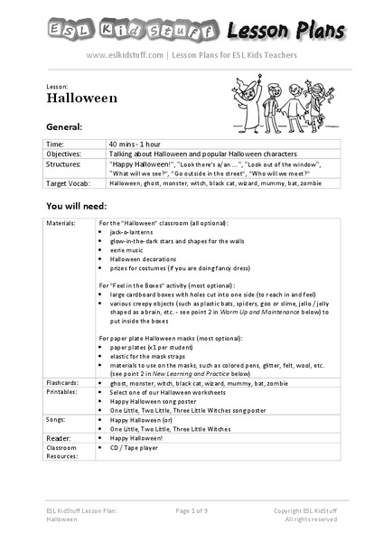 halloween for upper elementary collection