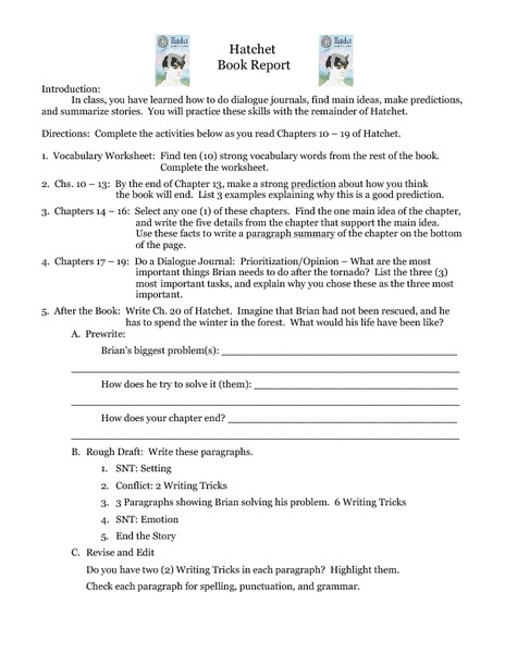 Printables Hatchet Worksheets hatchet worksheets pdf worksheet templates quiz chapter 1 study com