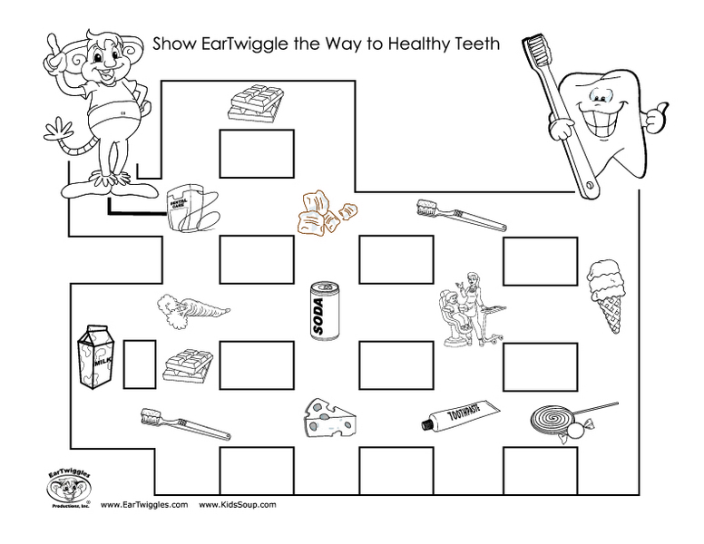 Number Names Worksheets dental health printables : 4th Grade Dental Health Worksheets - cheers to school so thankful ...