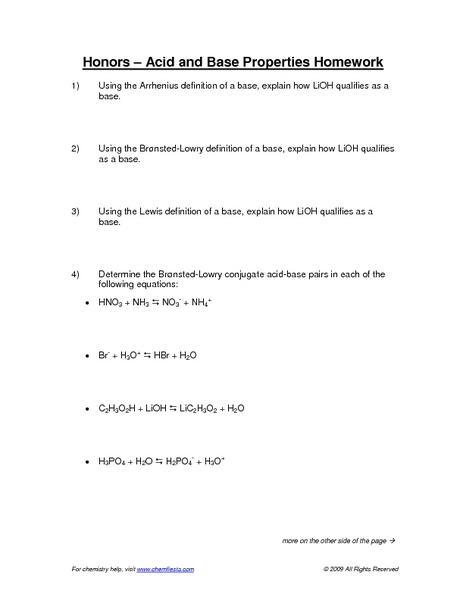properties of acids and bases worksheet free worksheets library download and print worksheets. Black Bedroom Furniture Sets. Home Design Ideas