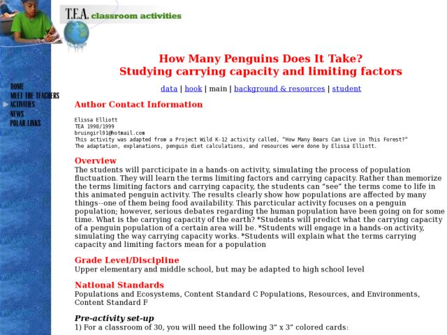Lesson Carrying Capacity Worksheet - Worksheets