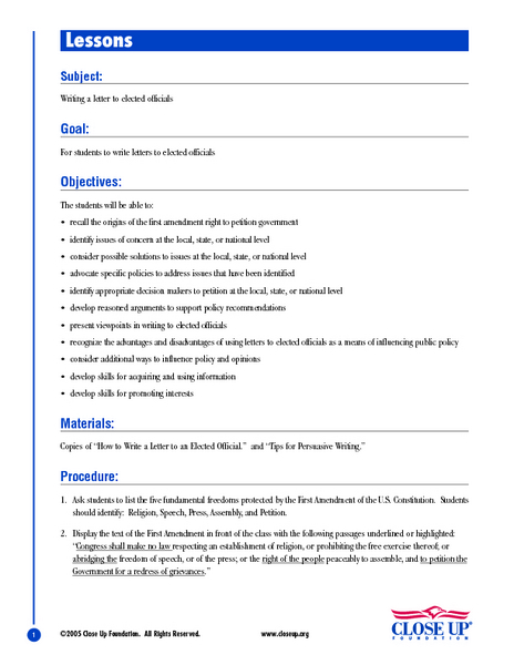 Custom resume writing lesson plan
