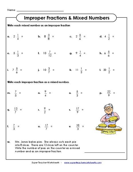 math worksheet : improper fractions on a number line worksheet  free printable  : Fractions And Mixed Numbers On A Number Line Worksheets