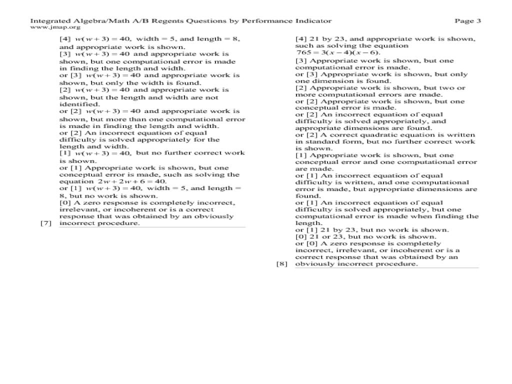 Quadratic Equations Practice Worksheets Tessshebaylo – Integrated Math 2 Worksheets