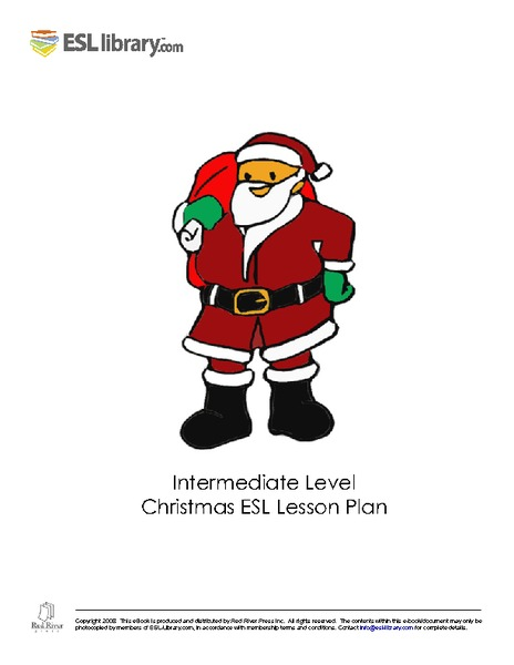 Intermediate Level Christmas ESL Lesson Plan - Lesson Planet ...