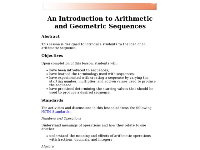 Algebra 2 Arithmetic Sequences Worksheet Worksheets for all ...