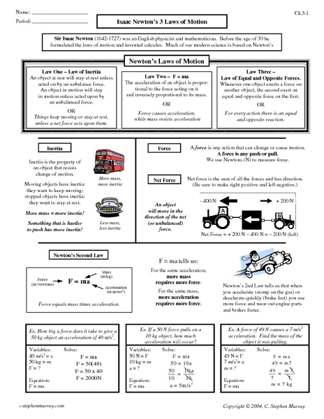 worksheets newtons laws worksheet opossumsoft worksheets and printables. Black Bedroom Furniture Sets. Home Design Ideas
