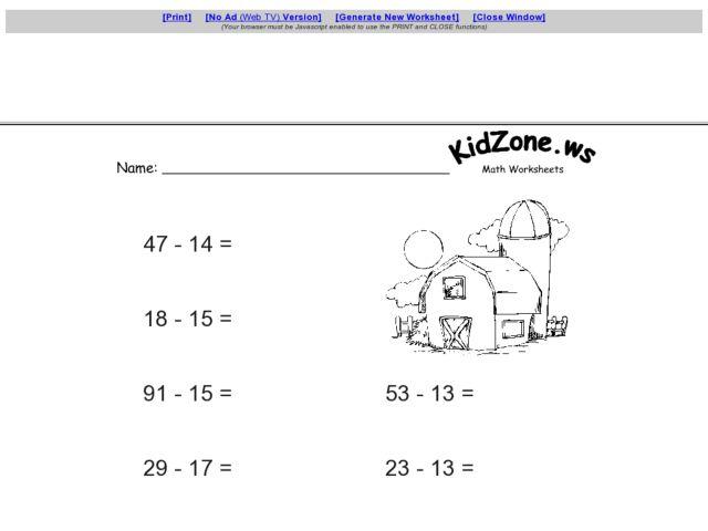 Kidzone Worksheet Laptuoso – Kidzone Worksheets