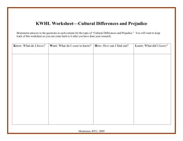 Racial diversity worksheet - Research paper Example