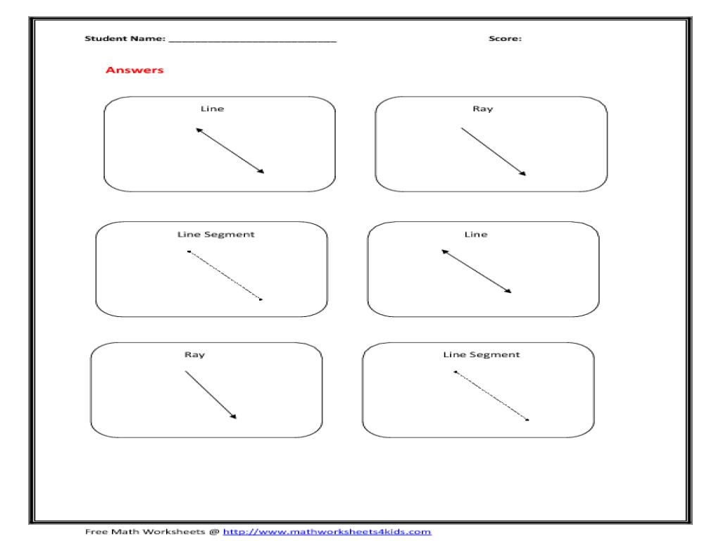 Free Worksheet Line Segment Worksheets lines segments and rays worksheets laveyla com line ray segment 9th 12th grade worksheet lesson planet