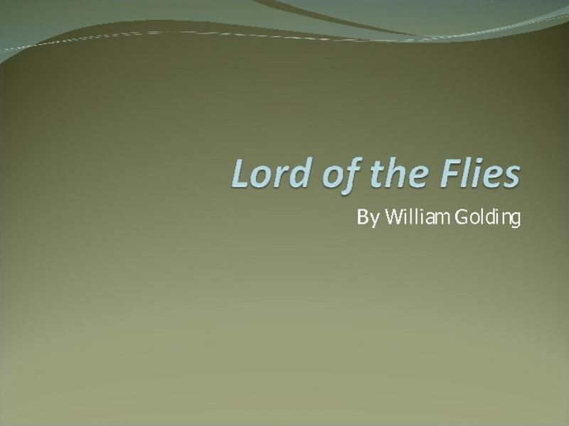 lord of the flies analysis essay Lord of the flies literary analysis in the novel lord of the flies ralph is one of the main characters but there is also something special about him that sets him apart from all the others in the beginning of the novel, he started off as a proper british boy who was pretty much harmless.