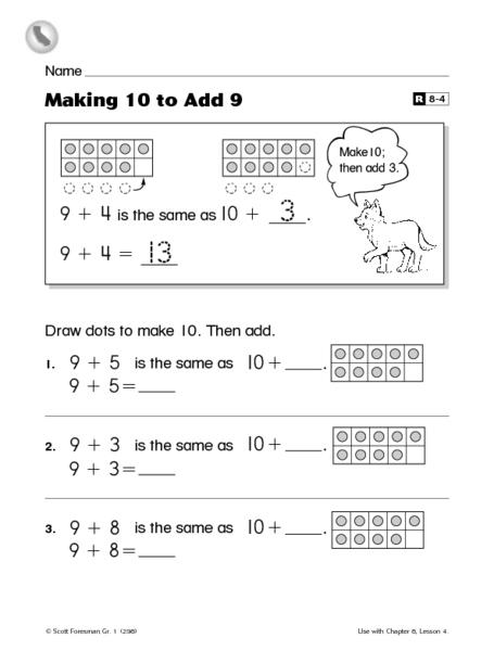 common worksheets making 10 worksheet preschool and kindergarten worksheets. Black Bedroom Furniture Sets. Home Design Ideas