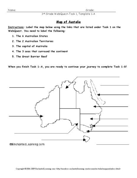 Educational worksheets australia