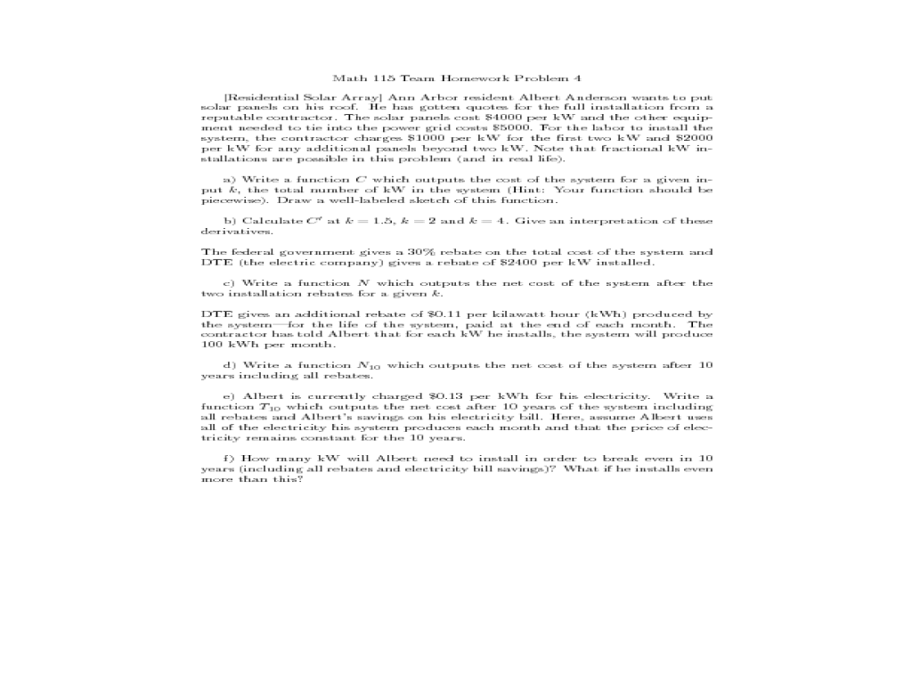 Calc 115 Team Homework Assignments - image 8