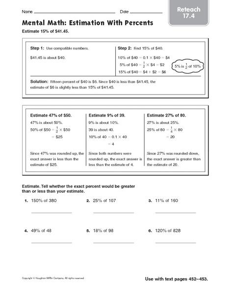 math estimation worksheets 6th grade sixth grade math worksheetsestimating differences of. Black Bedroom Furniture Sets. Home Design Ideas